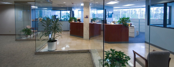 Tenant Representation Services, New Orleans, Office Interior Photo - Corporate Realty