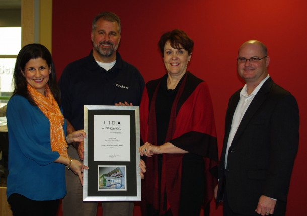 Cafe Z Award to Clients