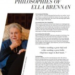 Observations and Philosophies of Ella Brennan